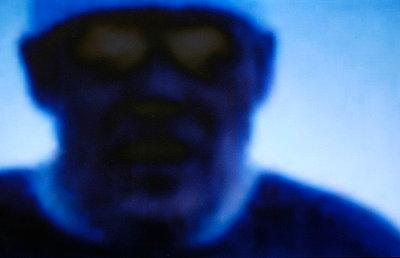 Blauer Mann - p2600167 von Frank Dan Hofacker