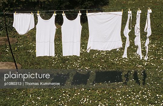 Weiße Wäsche - p1080313 von Thomas Kummerow