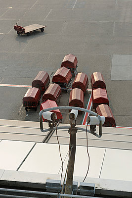 Airport security - p1048m976750 by Mark Wagner