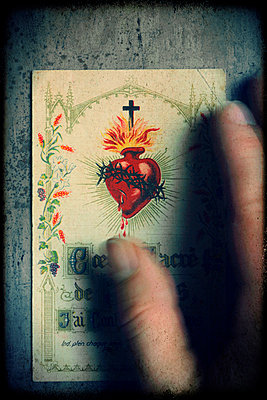 Sacred heart of Jesus - 1906 - p1028m987502 by Jean Marmeisse