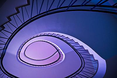 Spiral staircase - p1149m2115784 by Yvonne Röder