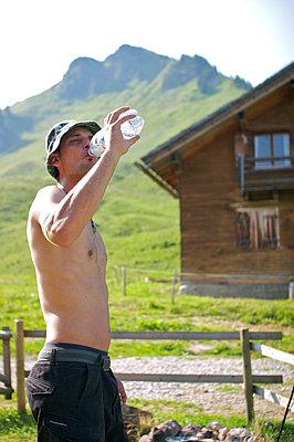 Thirsty hiker - p1980017 by David Breun