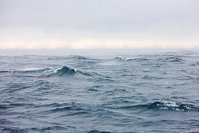 Waves on Atlantic Ocean - p575m743701 by Sven Halling