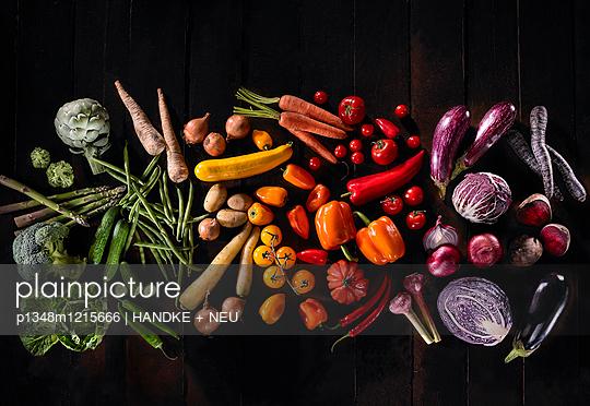 Gemüsefreuden - p1348m1215666 von HANDKE + NEU