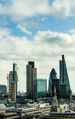 City of London financial district, London, England, UK - p429m976567 by Mischa Keijser