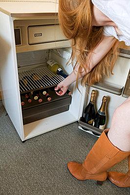 Griff in den Kühlschrank - p3050239 von Dirk Morla
