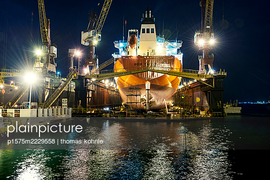 Bahrain, Manama, Werft - p1575m2229558 von thomas kohnle