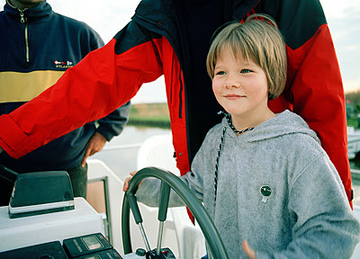 Hausboot - p1197m1091115 von Stefan Bungert