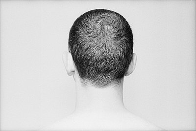 The back of a man's head - p3010517f by fStop