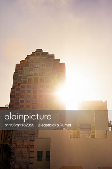 Morgensonne hinter 333 Bush Street - p1196m1182359 von Biederbick&Rumpf