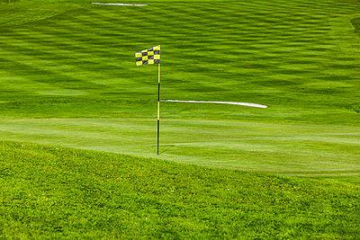 Grün auf Golfplatz - p248m1492307 von BY