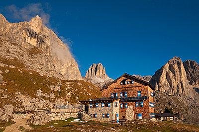 Rotwandhütte in Südtirol - p470m1090564 von Ingrid Michel