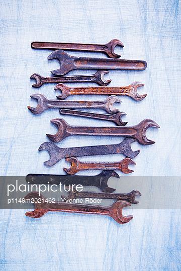 Schraubenschlüssel - p1149m2021462 von Yvonne Röder