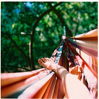 hammock holidays   - p5673494 by Sandrine Agosti-Navarri