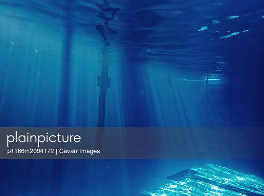 Underwater Abstract Background - p1166m2094172 by Cavan Images