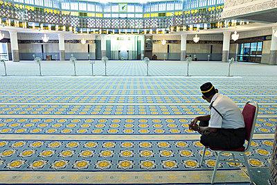 Nationalmoschee, Masjid Negara, Kuala Lumpur - p1202m1061234 von Jörg Schwalfenberg