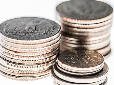 US Münzgeld - p401m1362445 von Frank Baquet