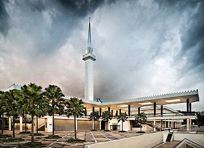 Nationalmoschee, Masjid Negara, Kuala Lumpur - p1202m1061231 von Jörg Schwalfenberg
