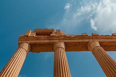 Ruinen der Oasenstadt und UNESCO-Weltkulturerbe Palmyra/Tadmor nahe Damaskus, Syrien - p1493m2063579 von Alexander Mertsch