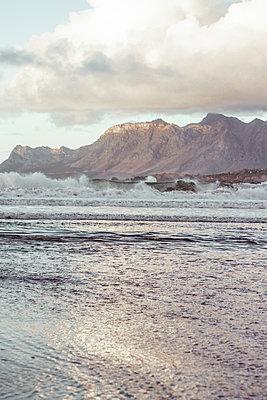 Surf on rocky coast - p1640m2254665 by Holly & John