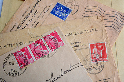 Old letters from military service - p813m831851 by B.Jaubert