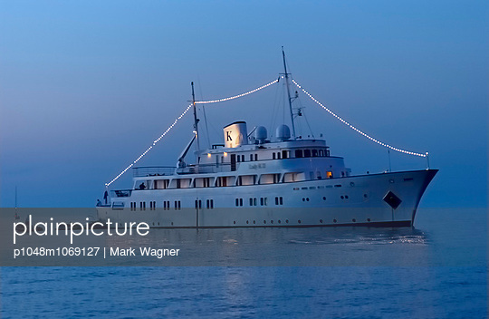 Private yacht - p1048m1069127 by Mark Wagner