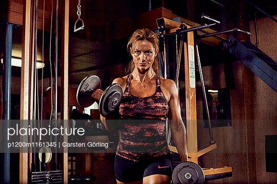 Bodybuilding - p1200m1161345 von Carsten Goerling
