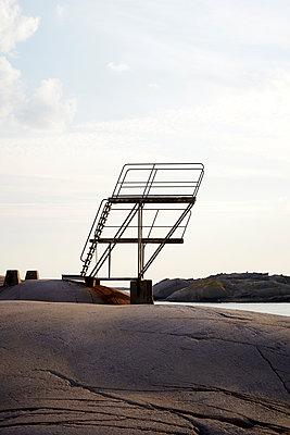 Sprungturm an der Schärenküste - p1124m1503341 von Willing-Holtz