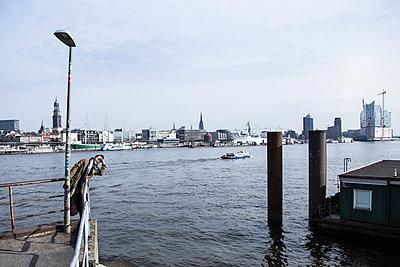 Hamburger Hafen - p1222m1154622 von Jérome Gerull