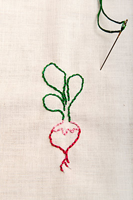 Garden radish - p451m916290 by Anja Weber-Decker