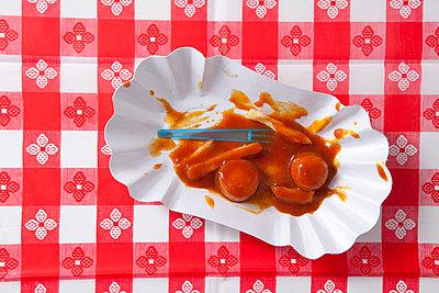 Rest Currywurst - p4541107 von Lubitz + Dorner