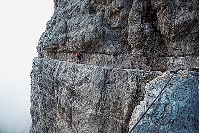 Bergsteigen - p7410016 von Christof Mattes