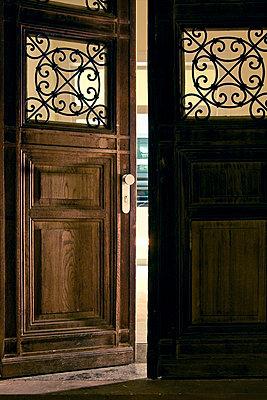 Old wooden door - p7490021 by Peter Wolf