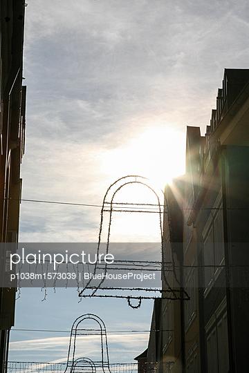 Weihnachtsdeko Glocken - p1038m1573039 von BlueHouseProject