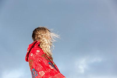 Woolen coat - p248m1116325 by BY