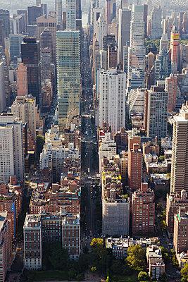 New York aus der Luft - p432m1172388 von mia takahara