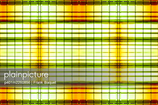 Abstract light kaleidoscope - p401m2260856 by Frank Baquet
