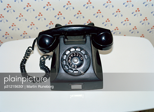 A phone old fashioned.