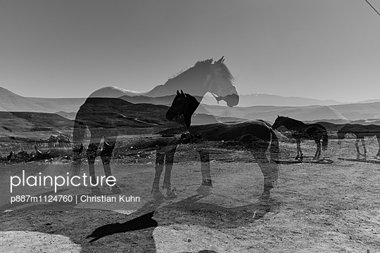 Multiple exposure - p887m1124760 by Christian Kuhn