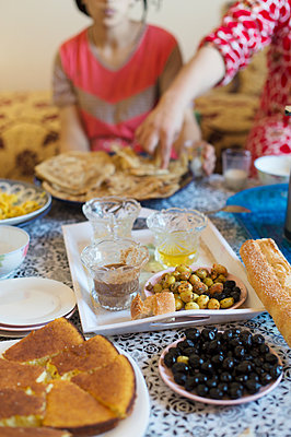 Morocco, Country's cuisine - p1167m2269955 by Maria Schiffer