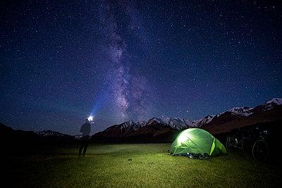 Himmel über dem Pamir - p1352m1223998 von Kilian Reil