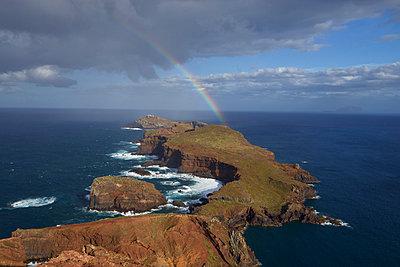 Rainbow on the horizon - p1399m2089850 by Daniel Hischer