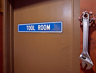 Tool Room Door - p1100m2090712 by Mint Images
