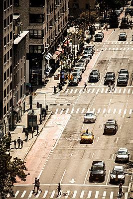 Straße in NYC - p1222m2089271 von Jérome Gerull