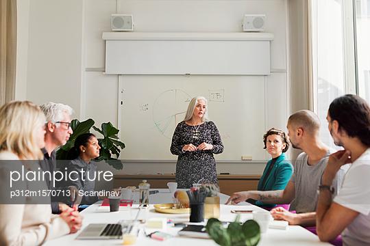 People at business meeting - p312m1570713 by Scandinav