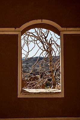 Wüstendorf aus Lehmziegel - p1146m1445029 von Stephanie Uhlenbrock