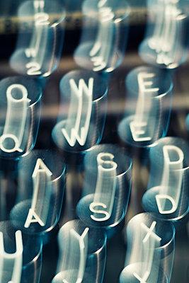 Tastatur einer Schreibmaschine - p3300233 von Harald Braun