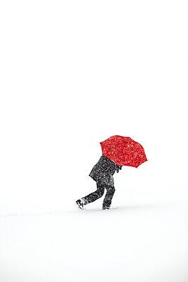 Snow storm - p1312m2054991 by Axel Killian