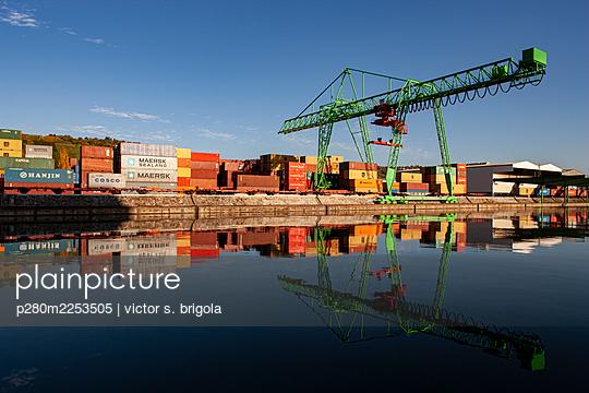 Container Terminal - p280m2253505 by victor s. brigola