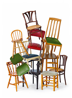 Chairs - p509m1183338 by Reiner Ohms